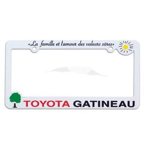 Hi-Impact 3D Maximum License Plate Frame