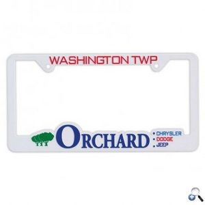 Hi-Impact 3D Traditional License Plate Frame