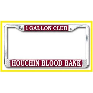 Standard Chrome Die Cast License Plate Frame