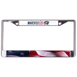 Glossy License Plate Frame